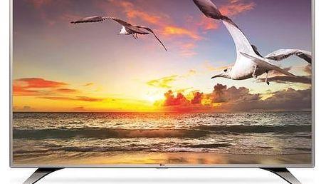 Televize LG 49LH615V stříbrná + Doprava zdarma