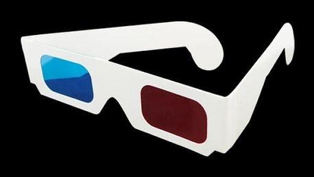 Plastové 3D brýle