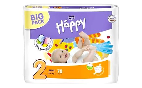 Plenky Bella Baby Happy Mini Big Pack 78 ks