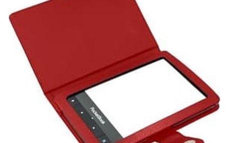 Pouzdro pro čtečku e-knih C-Tech pro Pocketbook 622/623/624/626 (PBC-01R) červené
