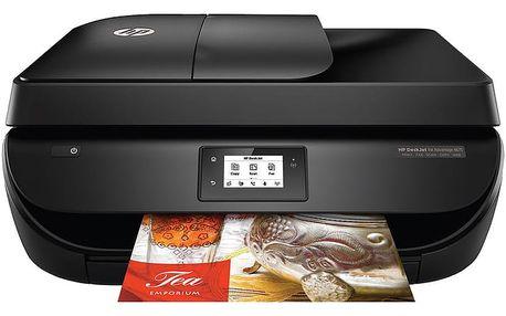 HP Deskjet Ink Advantage 4675, černá - F1H97C + Herní podložka pod myš A4tech Bloody B-072 (v ceně 199,-)