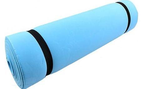 Podložka na cvičení v modré barvě