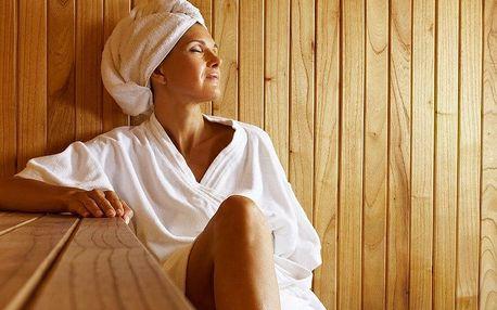 Privátní finská nebo parní sauna pro dva