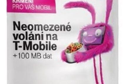SIM karta T-Mobile SIM s kreditem T-mobile Twist V síti 200 Kč kredit (719100)