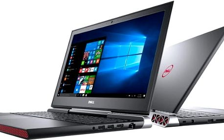 Dell Inspiron 15 Gaming (7566), černá - N-7566-N2-713K + Intel Summer 2017, 4K content and creativity bundle
