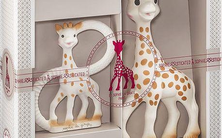 VULLI Můj první dárkový set žirafa Sophie a kousací kroužek