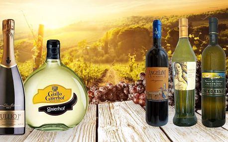 Perly Itálie: Vynikající italská vína a prosecco