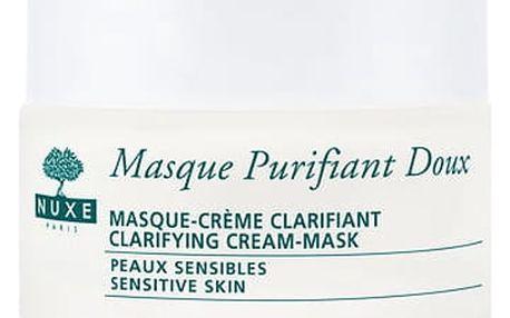 NUXE Rose Petals Cleanser Clarifying Cream-Mask 50 ml pleťová maska W