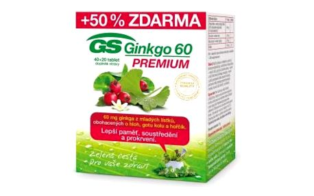 GS Ginkgo 60 Premium 40+20 tablet