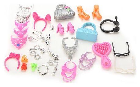 Sada doplňků pro panenky - 40 kusů