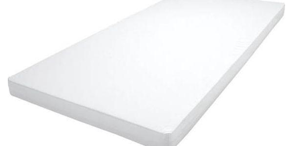Matrace do postýlky Baby Sky pěnová 120x60x6 cm bílá