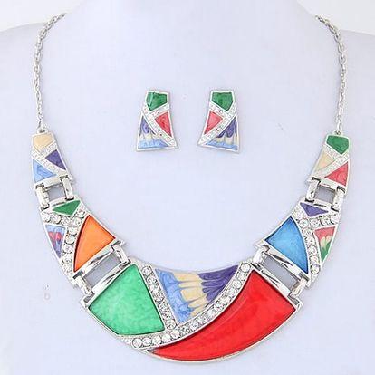 Sada šperků - náušnice a náhrdelník