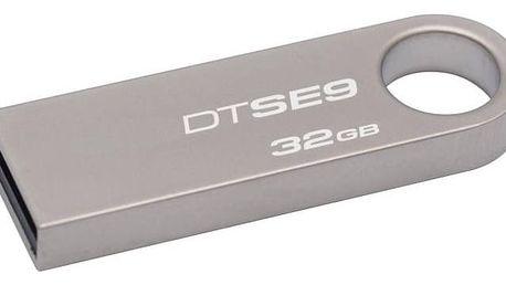 USB Flash Kingston DataTraveler SE9 32GB (DTSE9H/32GB) kovový + Doprava zdarma