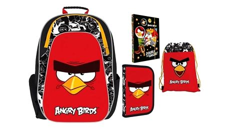 Školní set P + P Karton ANGRY BIRDS + Doprava zdarma