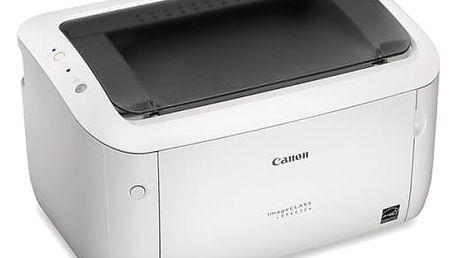 Tiskárna laserová Canon LBP6030w (8468B002AA) bílá A4, 18str./min, 2400 x 600, 32 MB, WF, USB