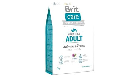 Granule Brit Care Grain-free Adult Salmon & Potato 3 kg