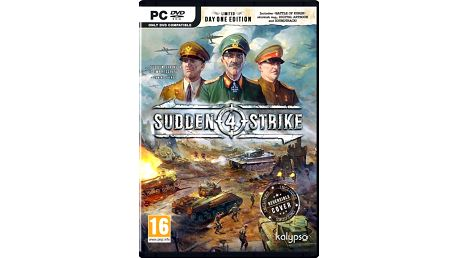 Sudden Strike 4 - Limited Day One Edition (PC) - PC
