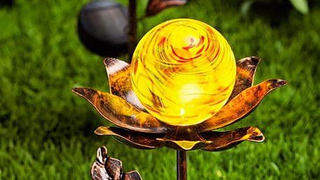 """Solární zápich """"květiny"""", 2 ks"""