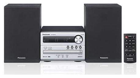 Mikrosystém Panasonic SC-PM250EC-S stříbrný