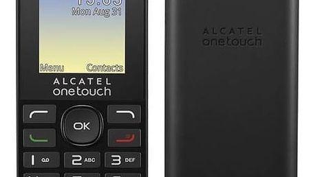 Mobilní telefon ALCATEL ONETOUCH 1016G (1016G-3AALCZ1) černý Software F-Secure SAFE 6 měsíců pro 3 zařízení (zdarma)