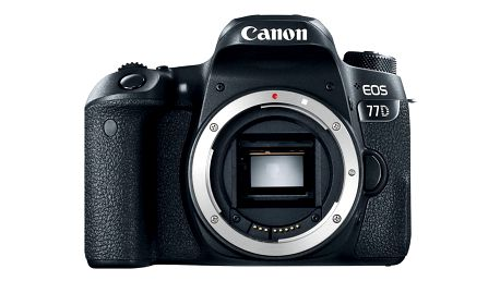 Canon EOS 77D + 18-135mm IS USM - 1892C004 + Zdarma Rollei batoh na zrcadlovku, 10 l (v ceně 1190 Kč)