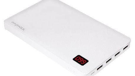 iMyMax Notebook Power Bank 30.000mAh, White