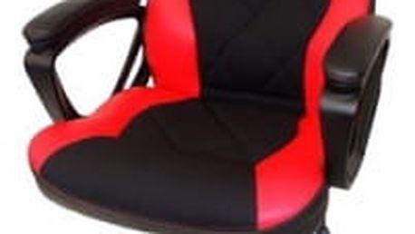 Herní židle Sandberg Warrior (640-80) černá/červená