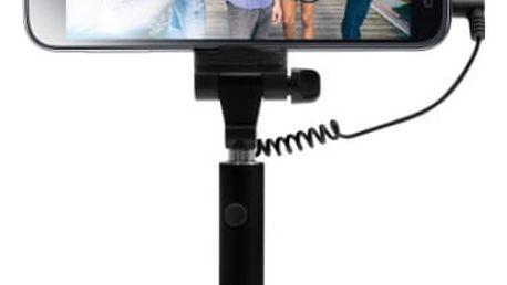 Selfie tyč FIXED Snap Mini - černá (FIXSS-SNM-BK) černá