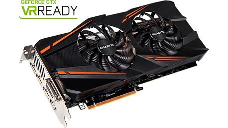 GIGABYTE GeForce GTX 1070 WINDFORCE OC, 8GB GDDR5 - GV-N1070WF2OC-8GD