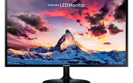 """Samsung S24F350 - LED monitor 24"""" - LS24F350FHUXEN + Kabel HDMI/HDMI, 1,8m M/M stíněný (v ceně 299,-)"""