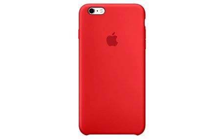 Apple iPhone 6s Silicone Case, červená - MKY32ZM/A