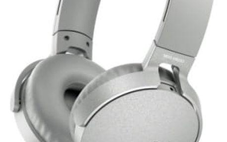 Sluchátka Sony MDR-XB550AP Extra Bass™ (MDRXB550APW.CE7) bílá