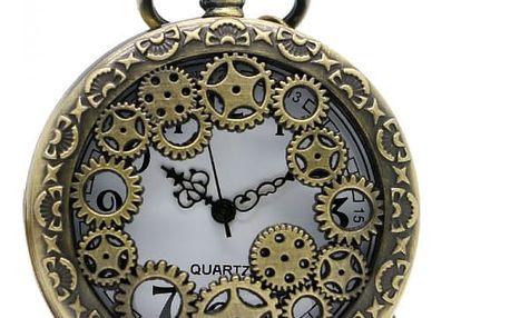 Kapesní hodinky s ozubenými kolečky