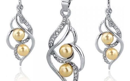 Set šperků v perlovém designu