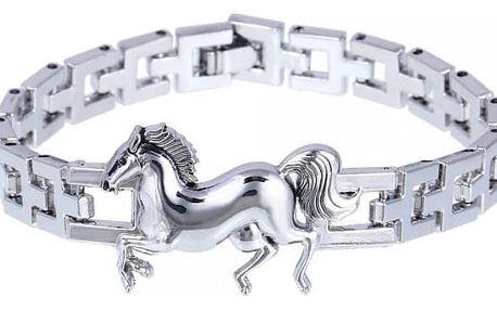 Krásný náramek s koněm