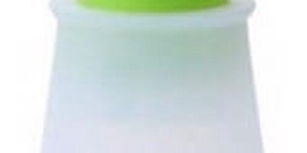 Silikonový štětec s nádobkou na olej