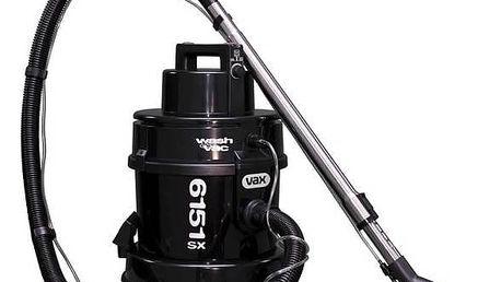 Vysavač víceúčelový VAX Wet&Dry 6151SX Multifunction černý + Sáčky do vysavače VAX 1-1-131045-00 v hodnotě 299 Kč + Doprava zdarma