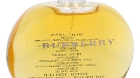 Burberry For Women 100 ml parfémovaná voda tester pro ženy