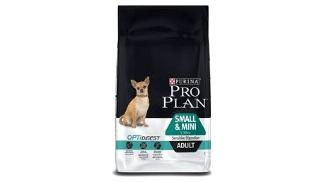 Granule Purina Pro Plan SMALL & MINI ADULT Sensitive Digestion 7 kg + Doprava zdarma