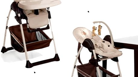 HAUCK Jídelní židlička Sit N Relax Zoo 2017