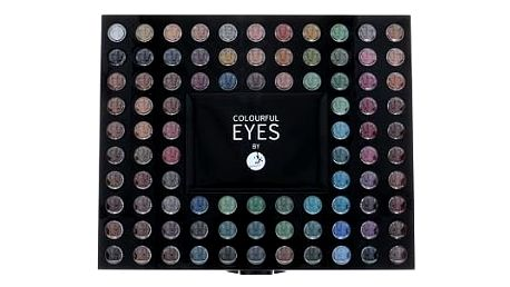 2K Colourful Eyes 98 Eye Shadow Palette 78,4 g oční stín W