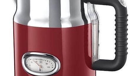 Rychlovarná konvice RUSSELL HOBBS RETRO 21670-70 červená + Doprava zdarma