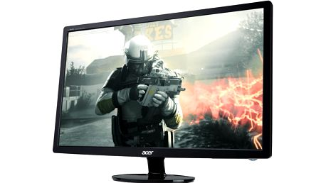 """Acer S241HLCbid - LED monitor 24"""" - UM.FS1EE.C01 + Kabel HDMI/HDMI, 1,8m M/M stíněný (v ceně 299,-)"""