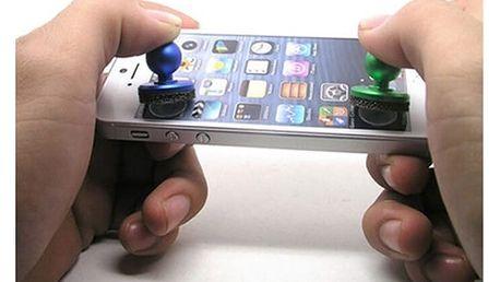 Mini herní joystick pro dotykové telefony a tablety - náhodné barvy