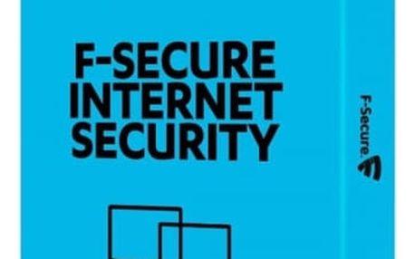 Software F-Secure Internet Security, 3 zařízení / 1 rok (FCIPBR1N003G2)