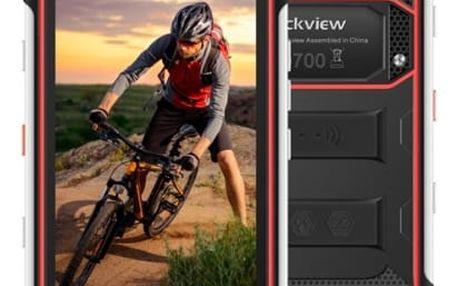 Mobilní telefon iGET GBV6000s (84000414) černý/červený