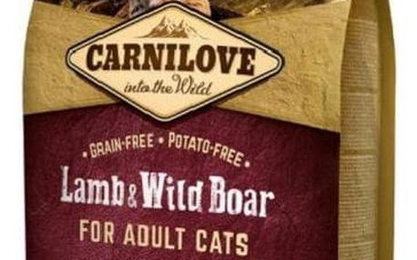 Granule Brit Carnilove Cat Lamb & Wild Boar Adult Sterilised 2 kg
