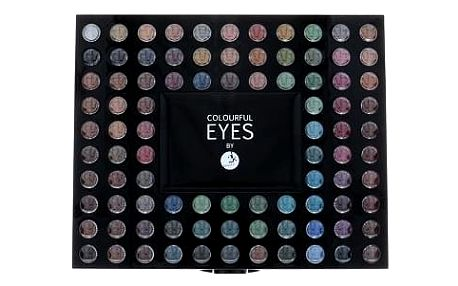 2K Colourful Eyes 98 Eye Shadow Palette 78,4 g oční stín W