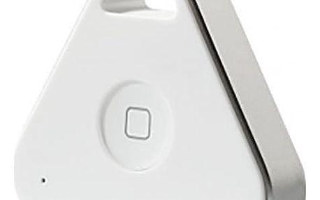Nonda iHere 3.0 lokátor na klíče a bluetooth ovladač selfie - bílá - IHKFWTMCC
