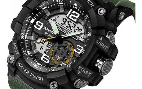Pánské digitální hodinky - 6 barev